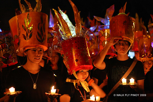 Capture the Colour: Red at the University of the Philippines Lantern Parade, Philippines