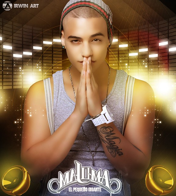 Maluma Design By Irwin Art
