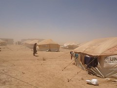 Photos of Camp Zaatari, Jordan/Syrian border