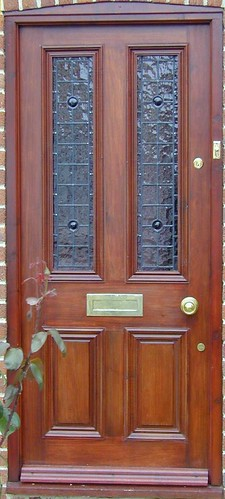 4 panel glazed door