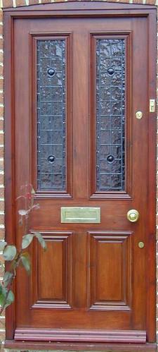 4 panel glazed door