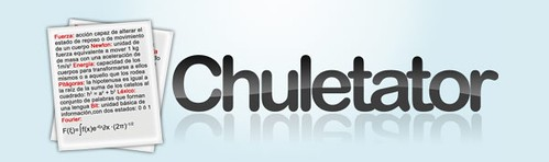 Chuletator web