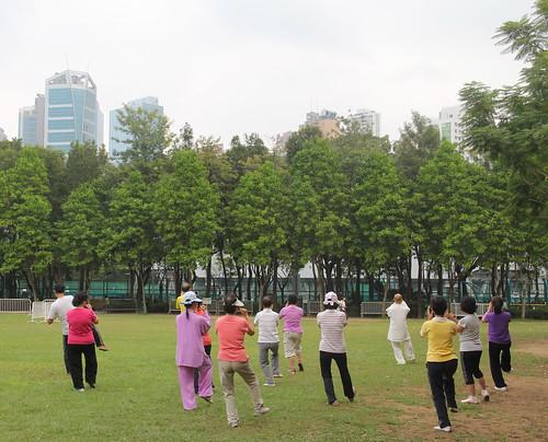 Tai Chi Chuan no Victoria Park