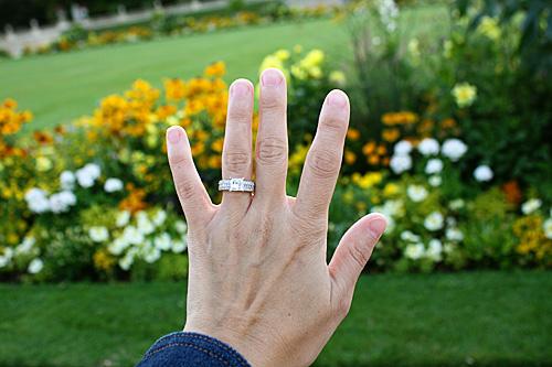 ring-against-flowers