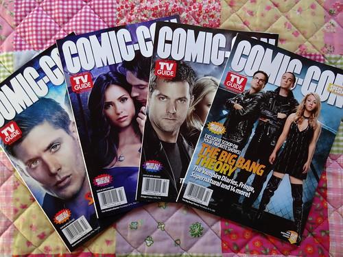 Comic Con TV Guide
