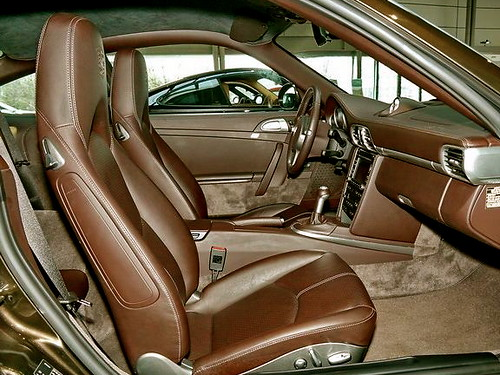 Porsche Cocoa Full leather Interior
