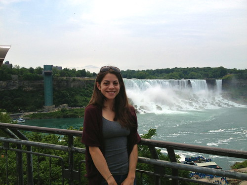 me in front of the American Falls