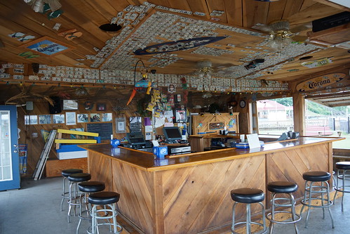 Bar at Seabreeze Restaurant along the Patuxent