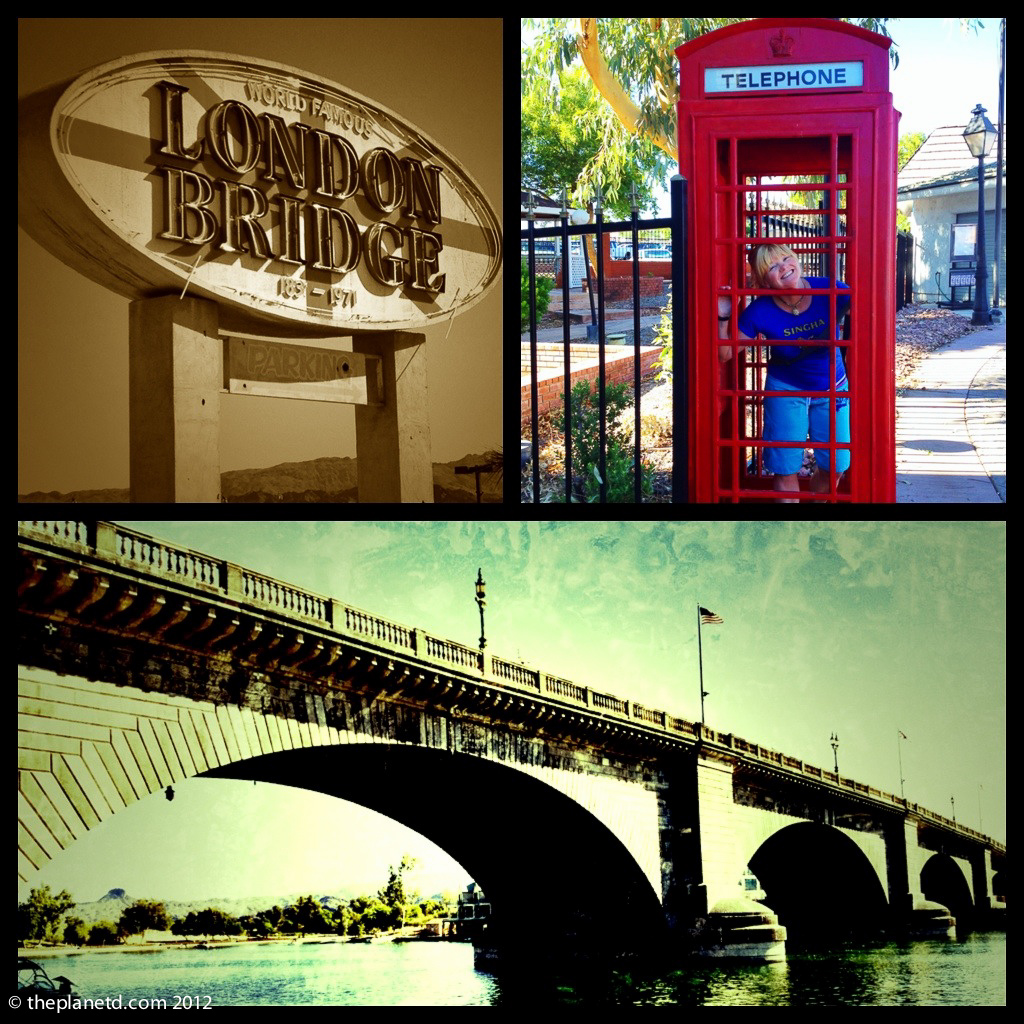 london bridge usa montage