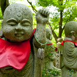 Buddhist Statues, Daisho-In Temple - Miyajima, Japan