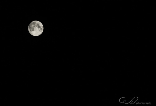 The Blue Moon 2012 by wtl photography