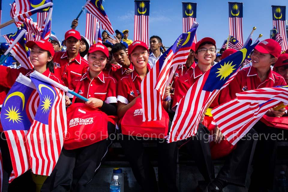 Malaysia Independence (Merdeka) Day Celebration @ Dataran Merdeka, KL, Malaysia