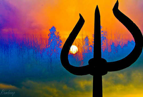 Trishul of shiva !!
