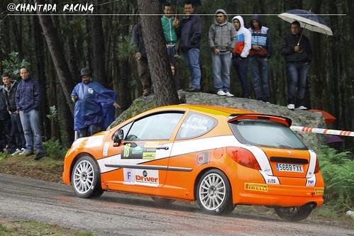 Juan Prado 207 RC R3T Rallye Sur do Condado 2012