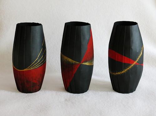 origami-vases