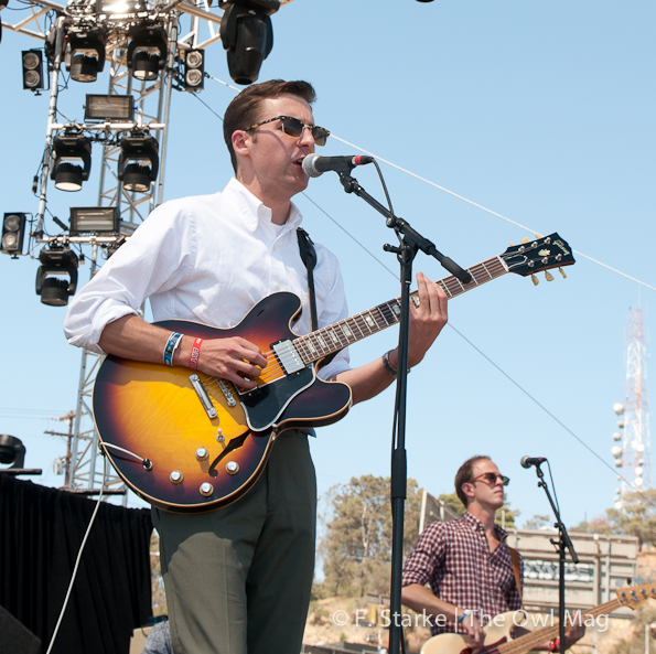 Nick Waterhouse @ FYF Fest 2012, Day 2
