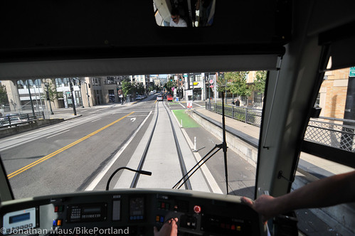 Riding the new streetcar line-8