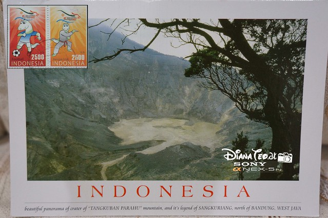 Postcard 09 - Indonesia Bandung
