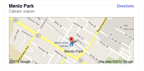 Meet at Menlo Park 9/14 12 pm