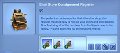 Elixir Store Consignment Register