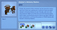 Aleister's Alchemy Station