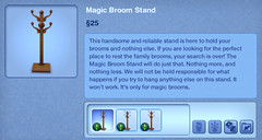 Magic Broom Stand