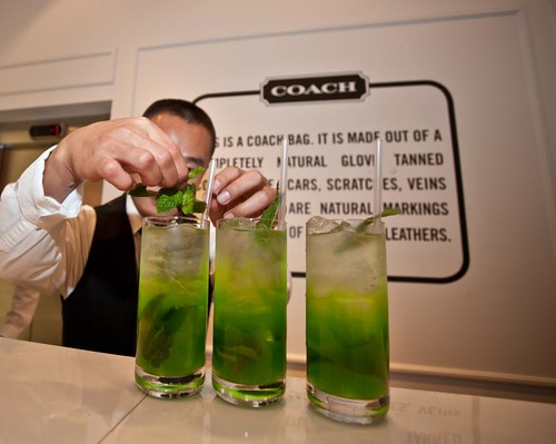 Coach VFNO cocktails