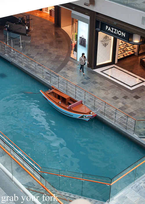 gondola at marina bay sands singapore