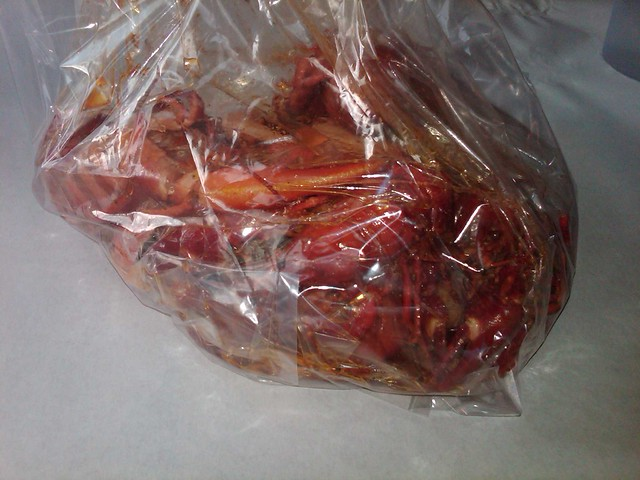 1/2 lb Crawfish & Prawns