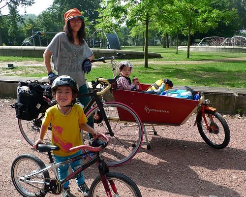 Aemstelhoeve bike camping trip