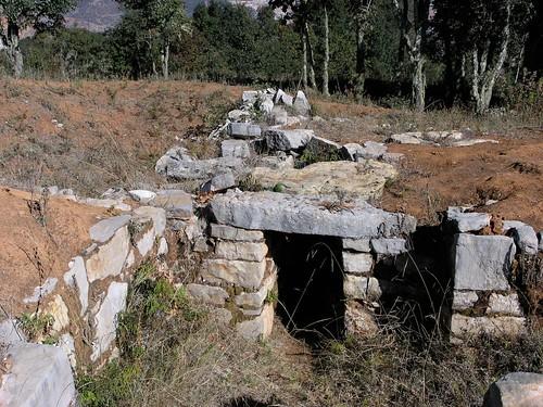 Ruinas mixtecas de Monte Negro (entre Santiago Tilantongo y San Miguel Achiutla, Región Mixteca), Oaxaca, Mexico