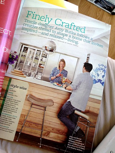 Amy Butler article--Better Homes and Gardens