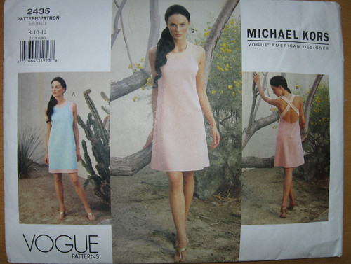 Vogue 2435 Kors pattern