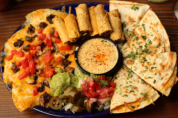 The Don's Sampler, Don Pablo's, Sarasota, FL, Restaurant Review