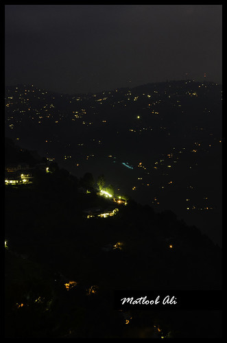 Night at hills by matloobali