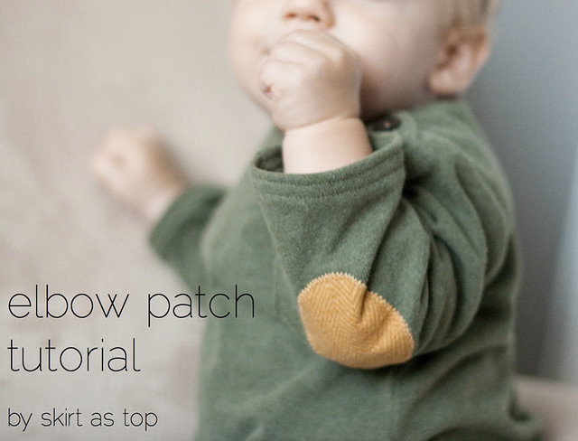elbow patch tutorial