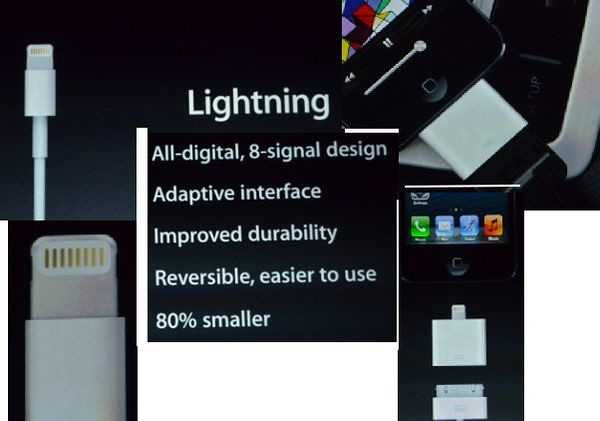 Lightning iPhone 5