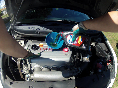 POV Oil Change w/GoPro