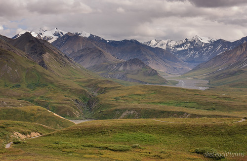 View from Eielson Visitor Center