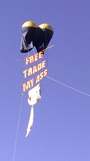 """Free Trade My Ass"" Balloon"