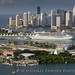 Miami Skyline and Port of Miami by Michael Pancier Photography