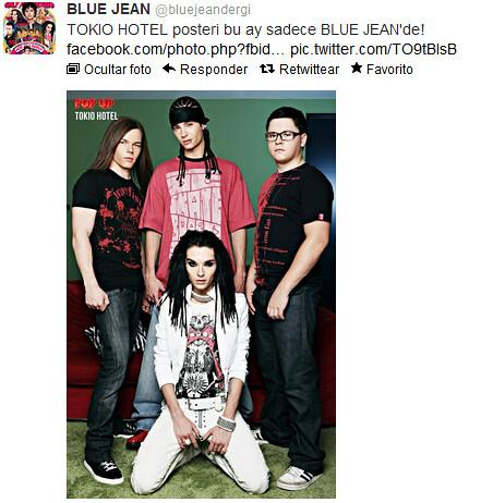 """Poster de TH en la revista """"Blue Jean"""" -Turquía 7987236582_36b4e41db6"""