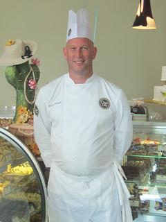 Chef Robert Bennett of Classic Cake Company
