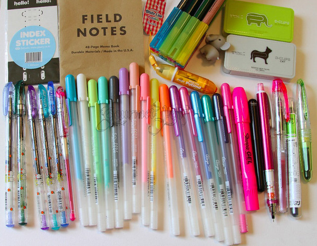 Cute Pens and Office Supplies
