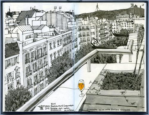 Evening-Sketchcrawl #2