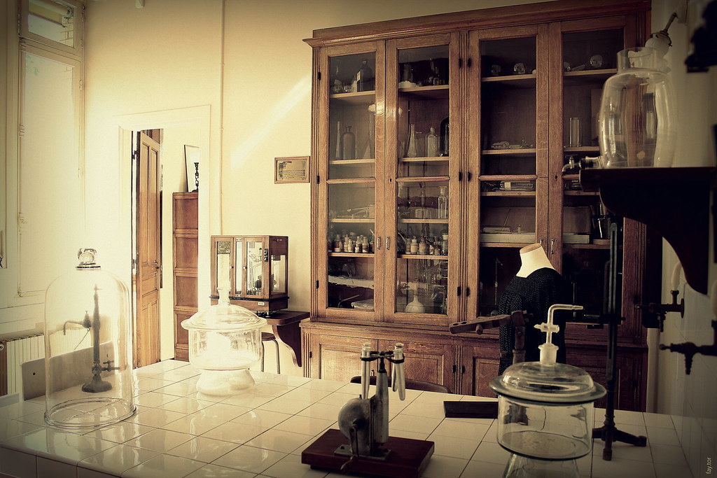 Marie Curie's lab