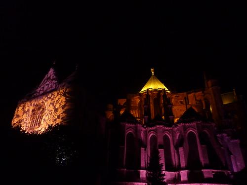 Fête de la lumière Chartres 2012