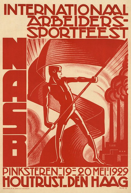 Albert Hahn. International Workers Sports Festival. 1929