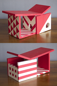 Scribble Tone Birdhouse