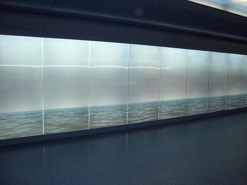 """""""By the Sea... You and Me"""" by Robert Wilson (2012) - La stazione """"Toledo"""" della metropolitana di Napoli, inaugurata il 17.9.12 / """"Toledo"""" Underground Station in Naples, open 17.9.12"""